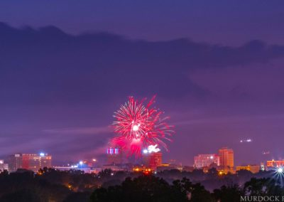 Fireworks Over Huntington