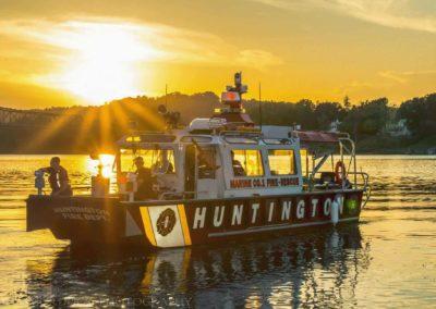 HFD Boat on River