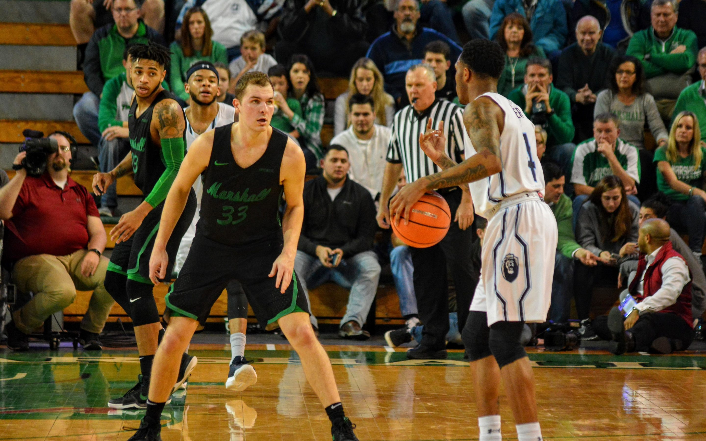 Late Mistakes Cost Herd Against ODU