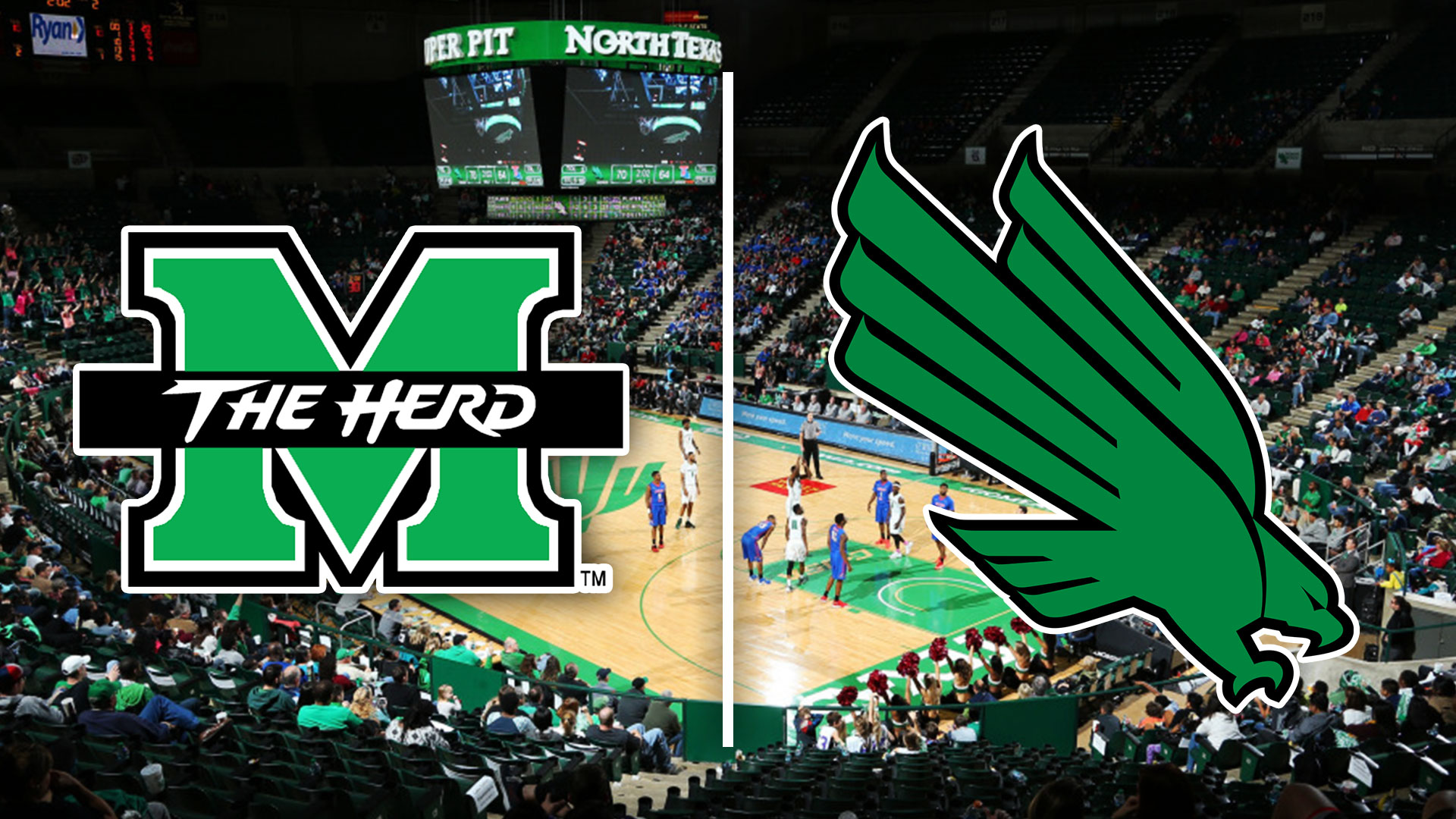 Herd Leaves North Texas With Last Minute Win