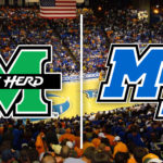Herd Shocks No. 24 Middle Tennessee With Upset In Murfreesboro