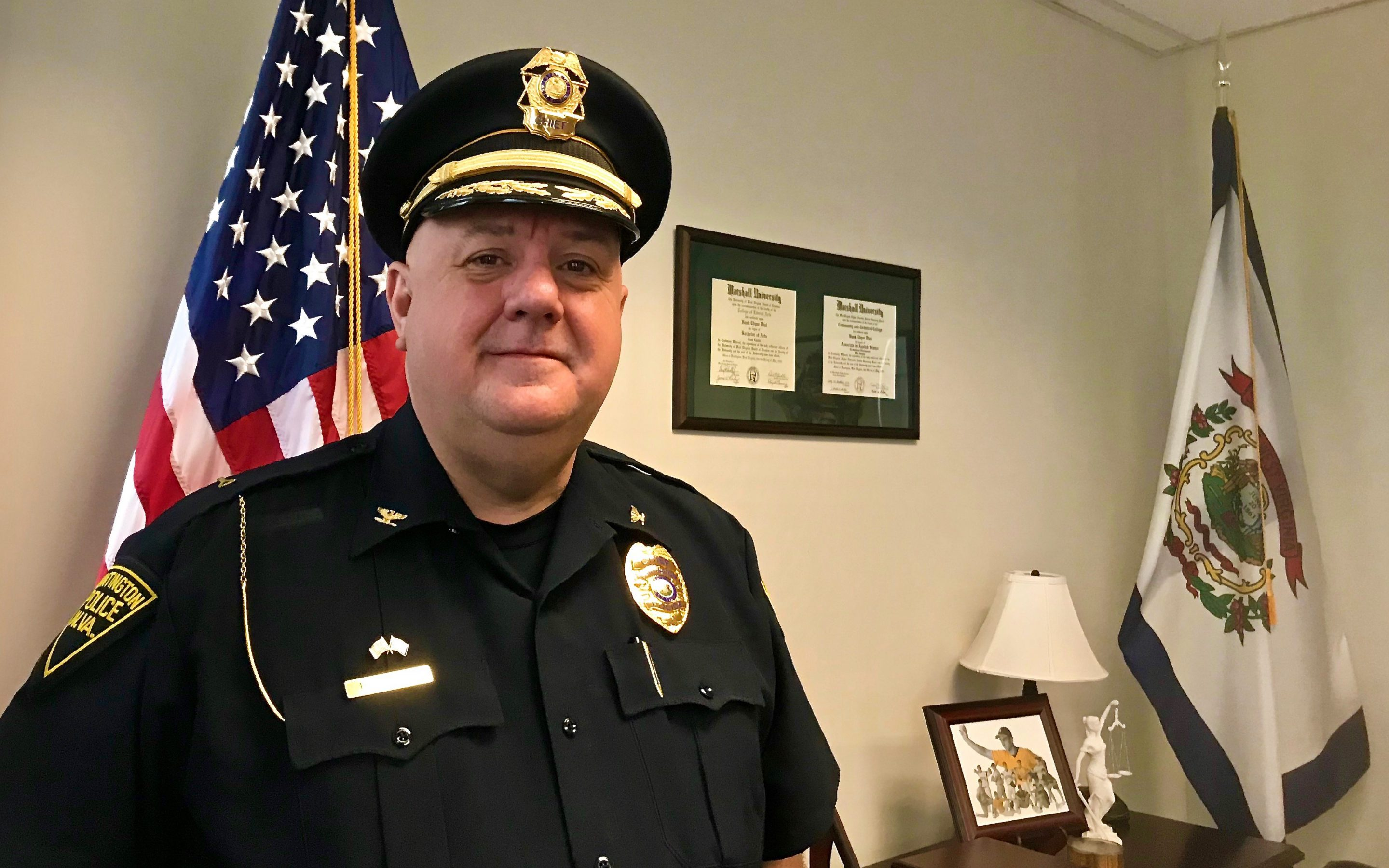 Huntington Boy Makes Good To Become Police Chief