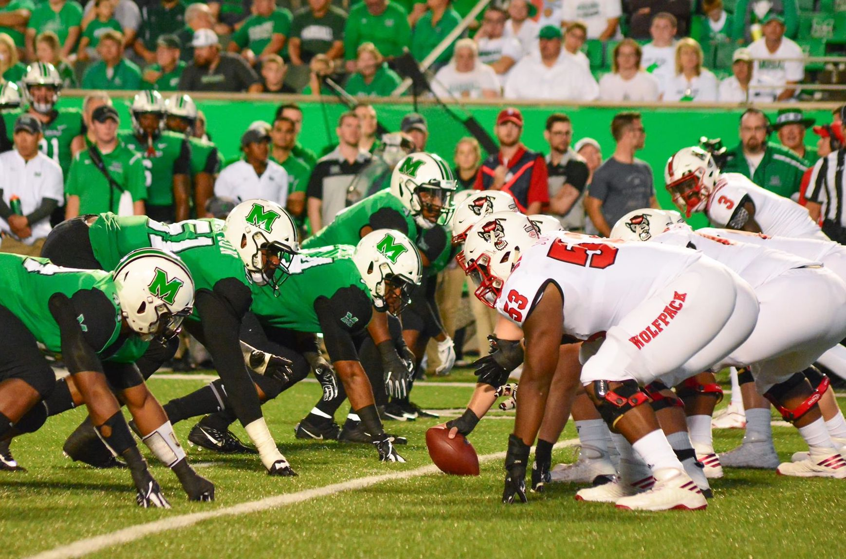 Marshall Football Falls to NC State 37-20 (Again)