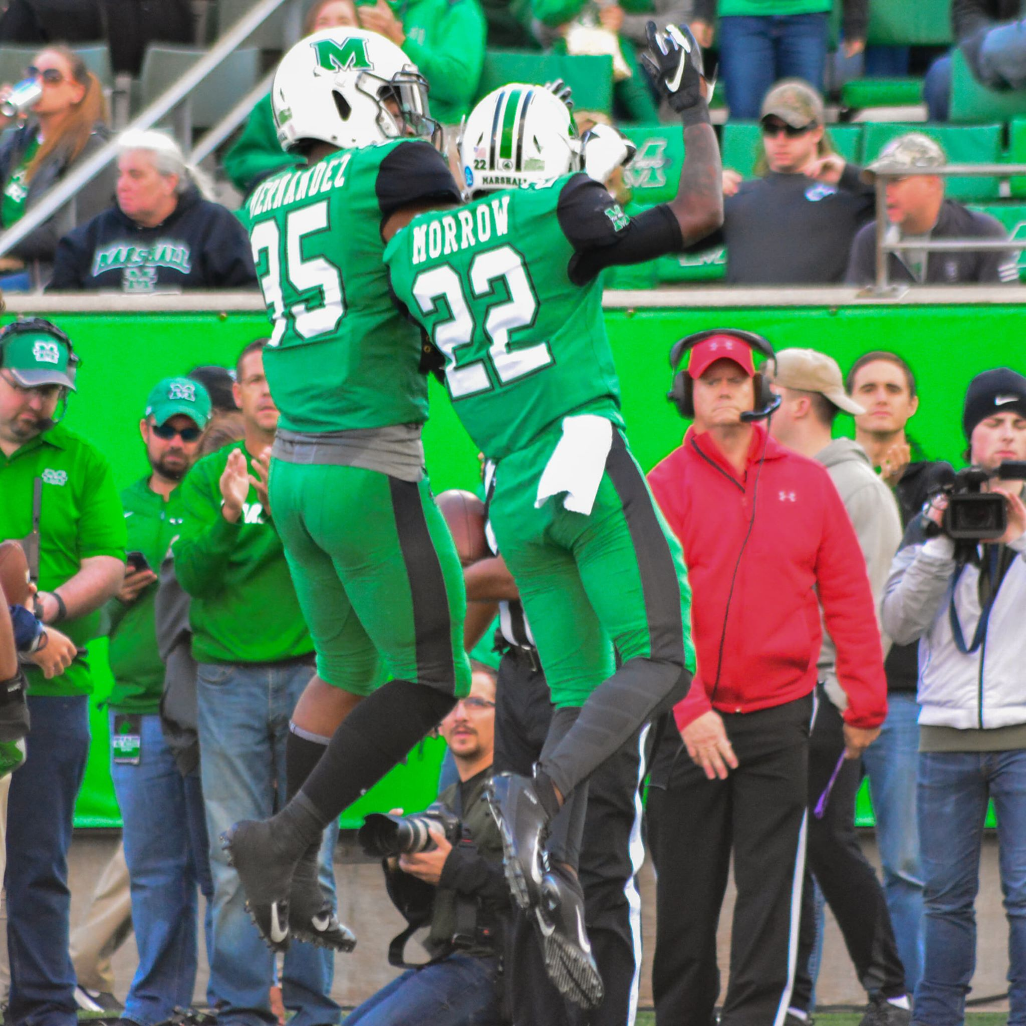 Marshall Football Defeats FAU 31-7 On Homecoming