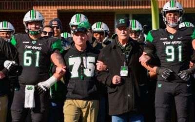 Herd Football Rolls Charlotte 30-13 On 48th Anniversary