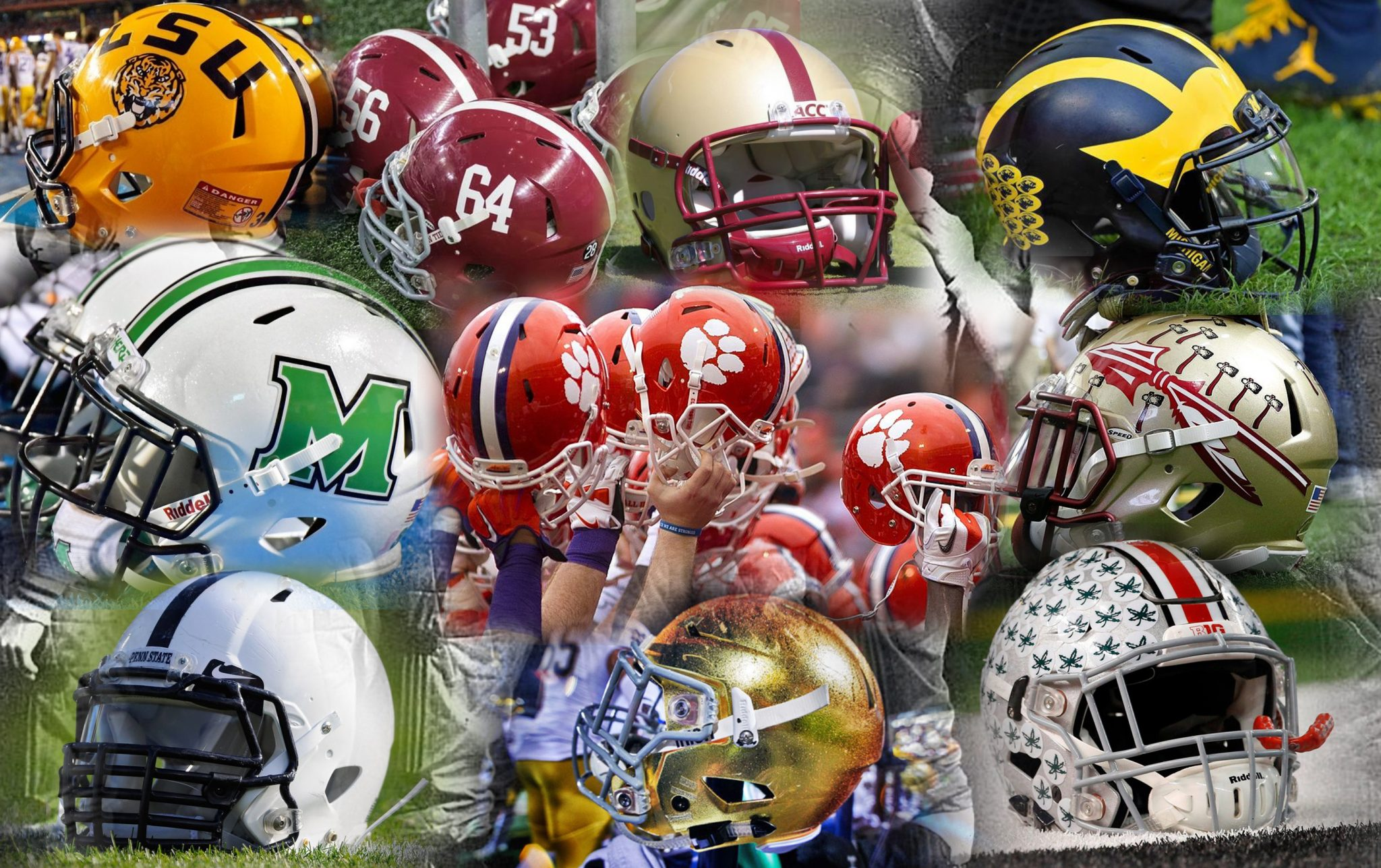 Top 10 Best Helmets In College Football