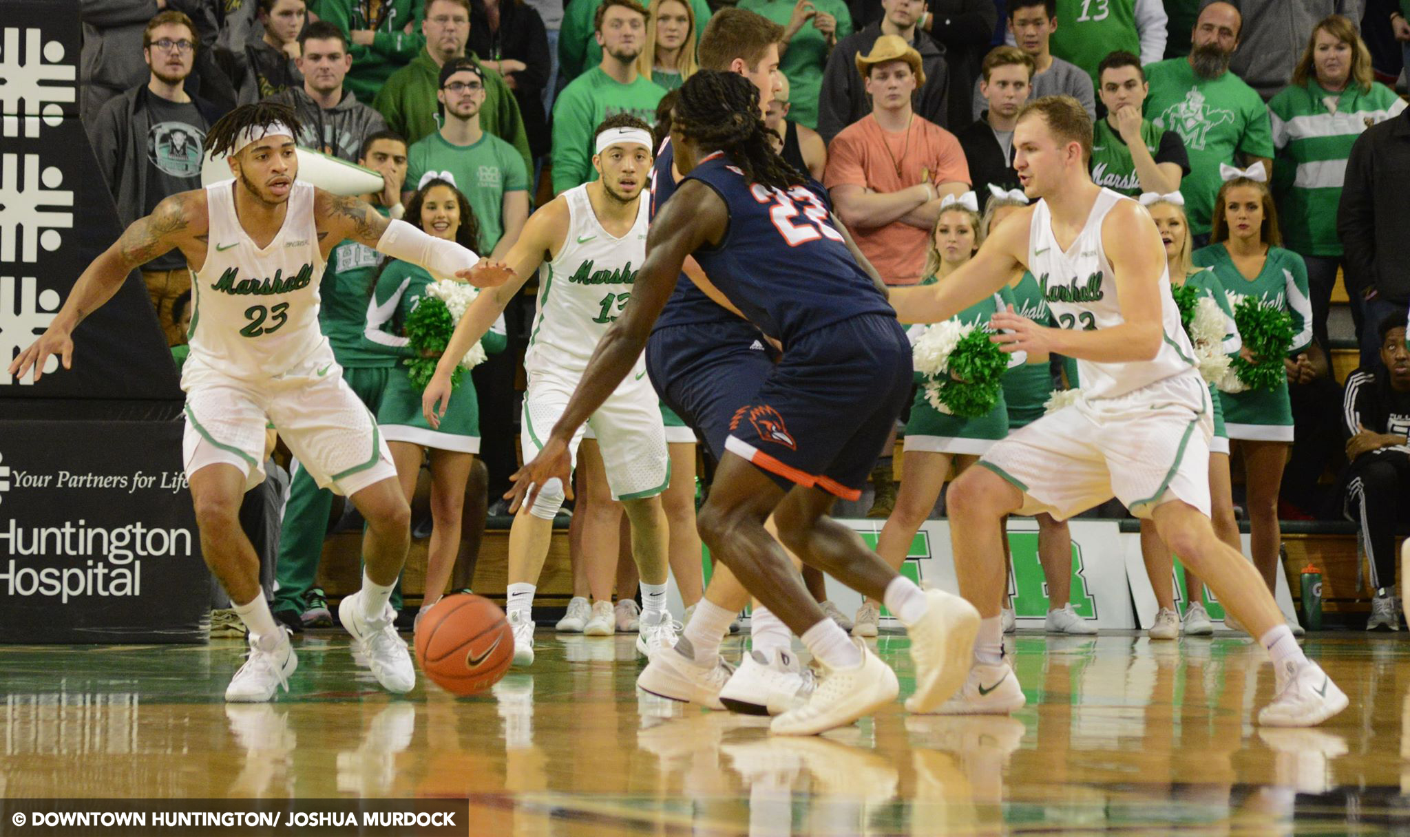 Marshall Men's Basketball Falls To UTSA In OT 116-106