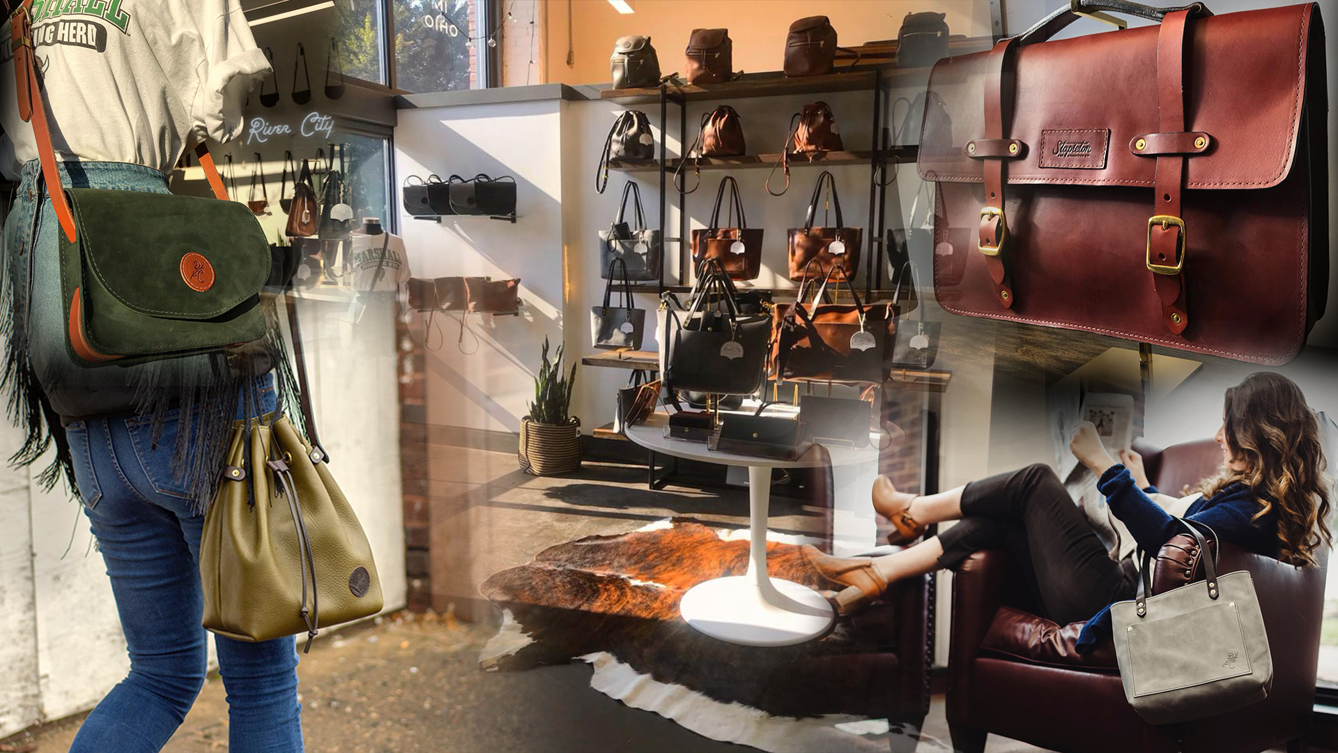 River City Leather Brings Handmade Leather Goods To Downtown Huntington